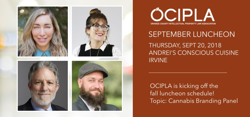 OCIPLA September luncheon in Irvine, CA for Cannabis panel