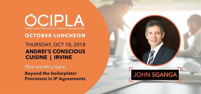 OCIPLA Luncheon October 2018