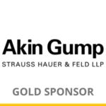Akin Gump logo for Gold Sponsorship of OCIPLA