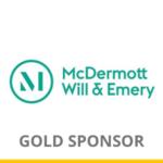 McDermott Will Emery logo for Gold Sponsorship of OCIPLA
